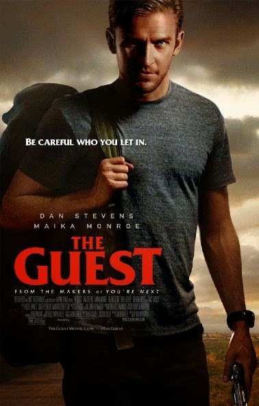 Poster Of English Movie The Guest (2014) Free Download Full New Hollywood Movie Watch Online At alldownloads4u.com