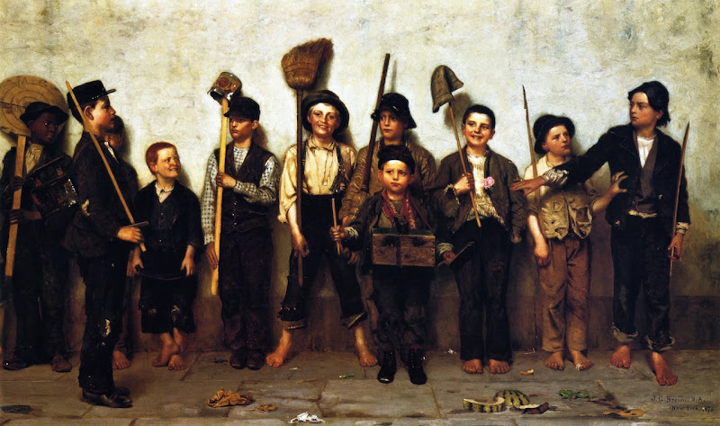 John George Brown - Dress Parade