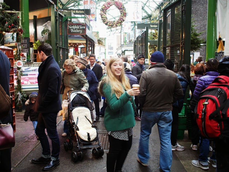 Borough Market London Christmas