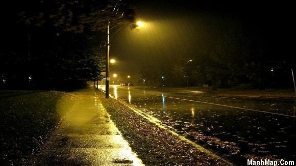 thơ mưa đêm nhiều tâm sự