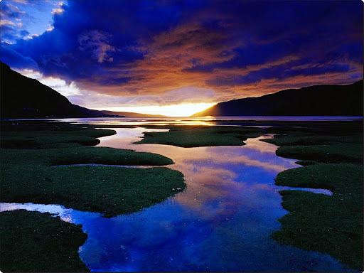 Little Loch Broom at Sunset, Wester Ross, The Highlands, Scotland.jpg