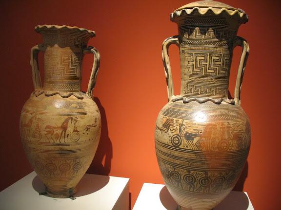 Basijas del Museo de Ceramicós en Atenas