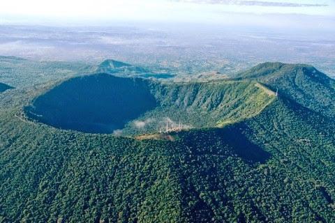 San Salvador volcano (Boqueron)