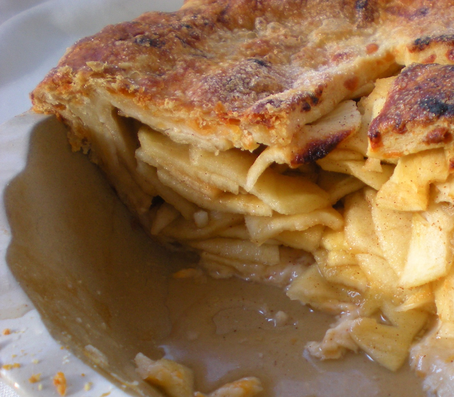Apple Cheddar Pie by Lucy Mercer/A Cook and Her Books