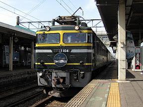 JR寝台特急「日本海」 EF81