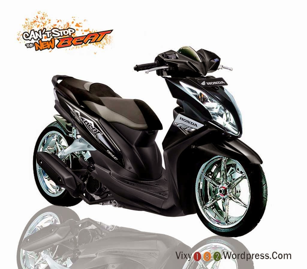 honda beat modifikasi ring 17