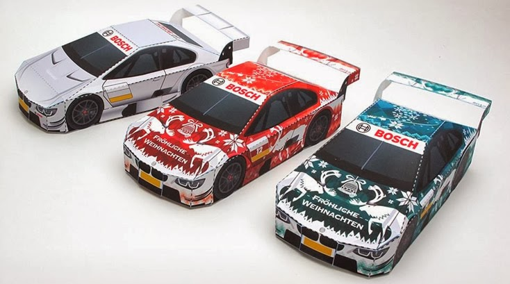 Bosch Touring Car Papercraft