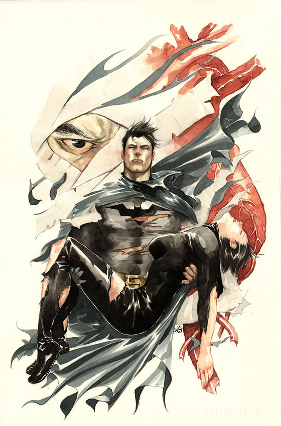 Batman Detective 850 Cover, de Dustin Nguyen