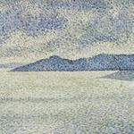 Coastal scene - T. van Rysselberghe