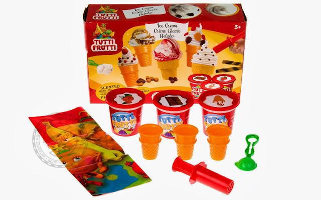 Dụng cụ làm kem ốc quế từ bột nặn Tutti Fruitti--BJTT14807-061404148071