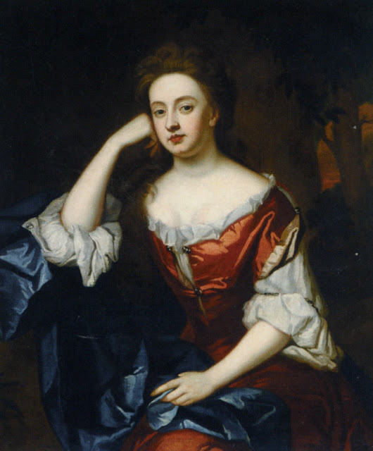 Godfrey Kneller - Portrait of Frances Jennings, Dutchess of Tyrconnel
