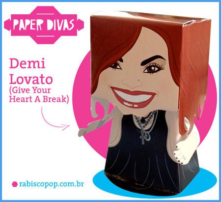 Demi Lovato Papercraft
