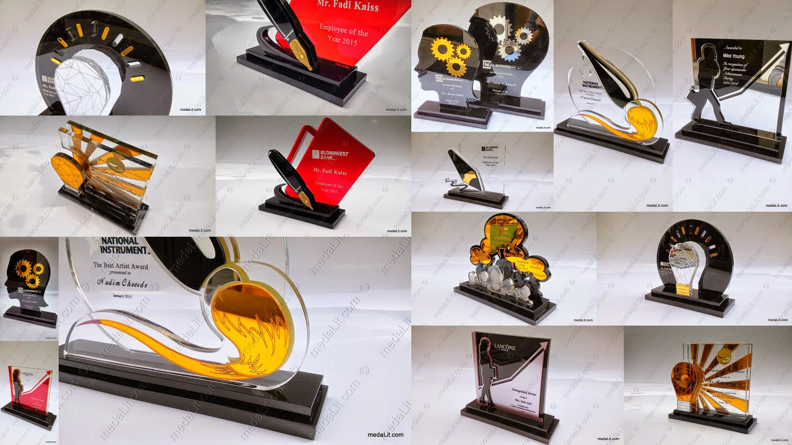 Lebanon Trophies. Absi corporate trophies