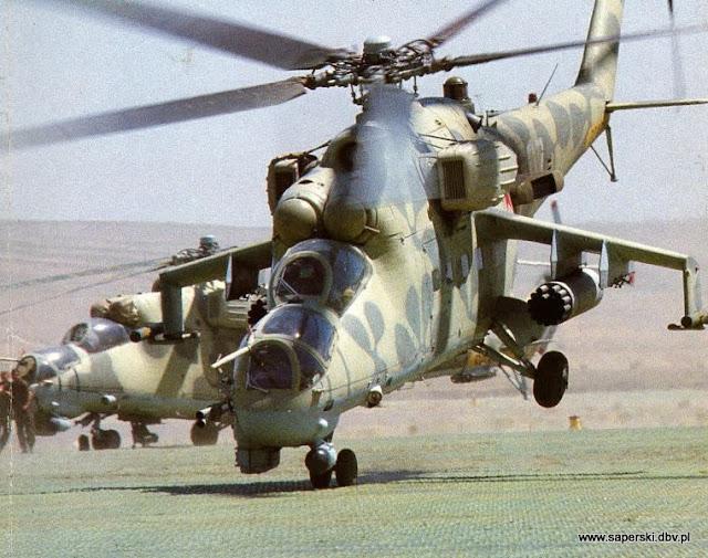 śmigłowce, Afganistan