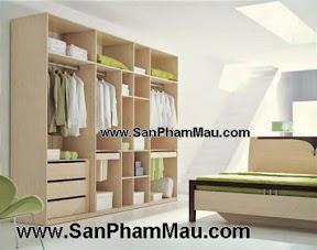 Tủ quần áo gỗ công nghiệp bền đẹp