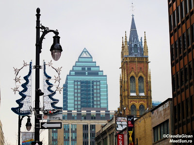 Montreal. Downtown. St. Catherine