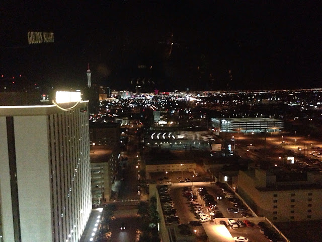 Las Vegas at Night from the Rush Tower
