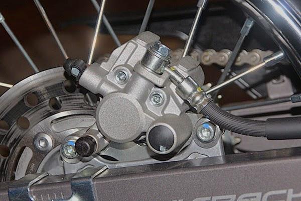 kawasaki dtracker brake disk
