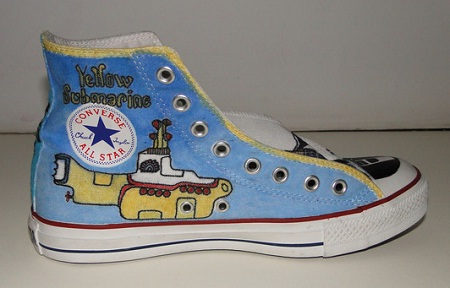Customização de All Star - Beatles