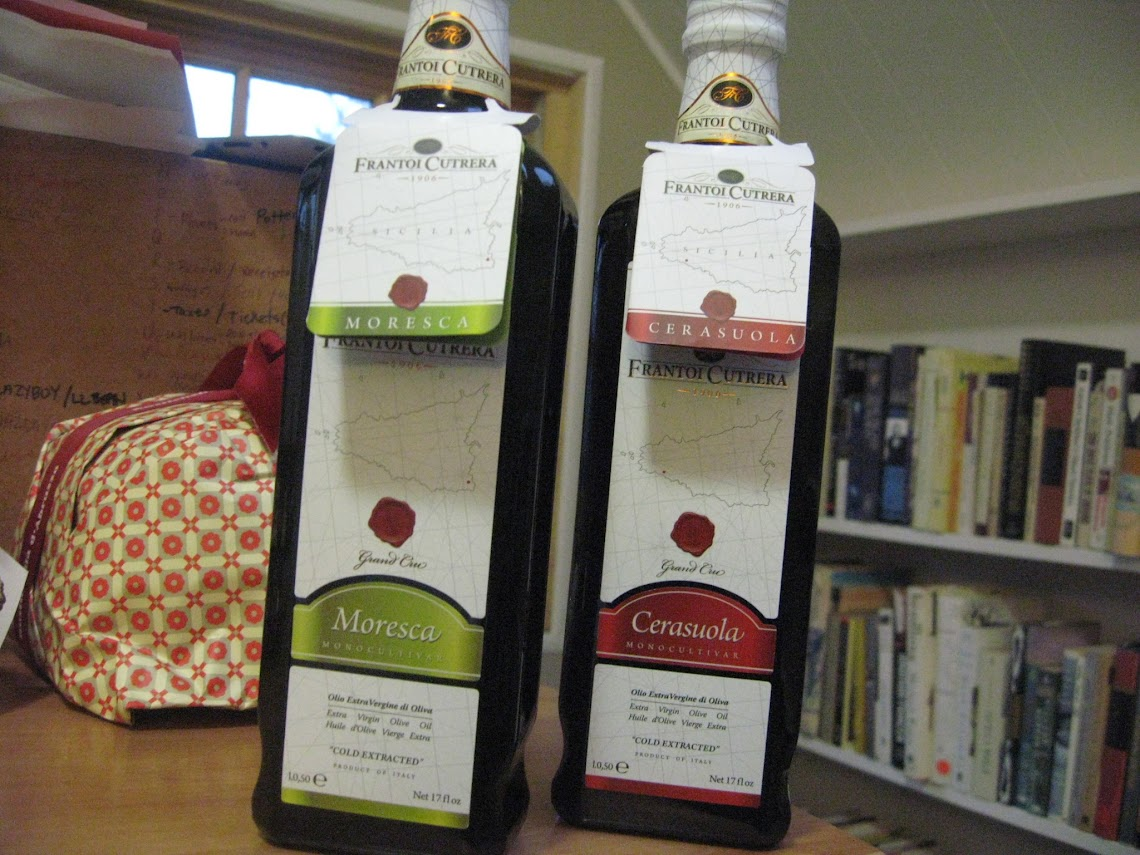 The exquisite Frantoi Cutrera Extra Virgin Olive Oils