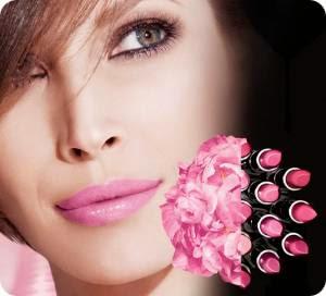 Розовый цвет помады