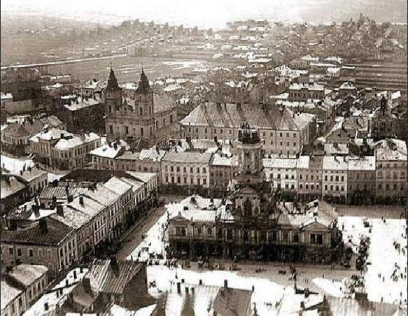 городская Ратуша Ивано-Франковска