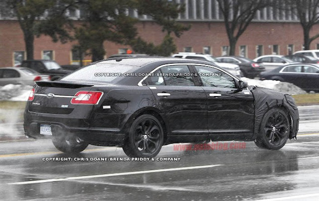 2012 ford taurus sho spy photos and price garage car. Black Bedroom Furniture Sets. Home Design Ideas