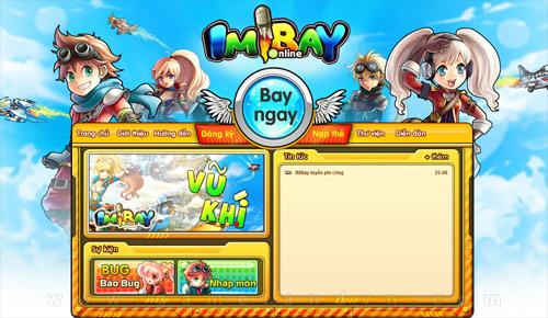 IMBay Online đã ra mắt trang chủ chính thức 1