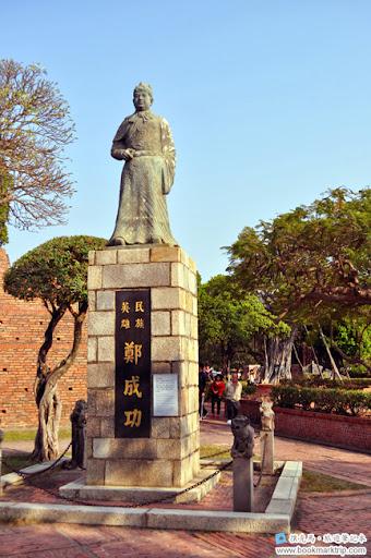 安平古堡鄭成功銅像