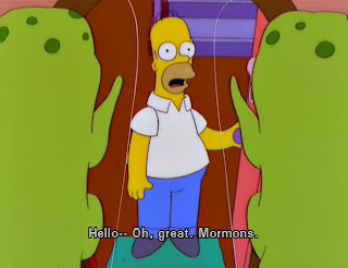 simpsons aliens mormons homer, the simpsons aliens, the simpsons mormons, homer simpson mormons, homer mormons, simpsons mormons, homer simpson aliens, oh great mormons, simpsons oh great mormons
