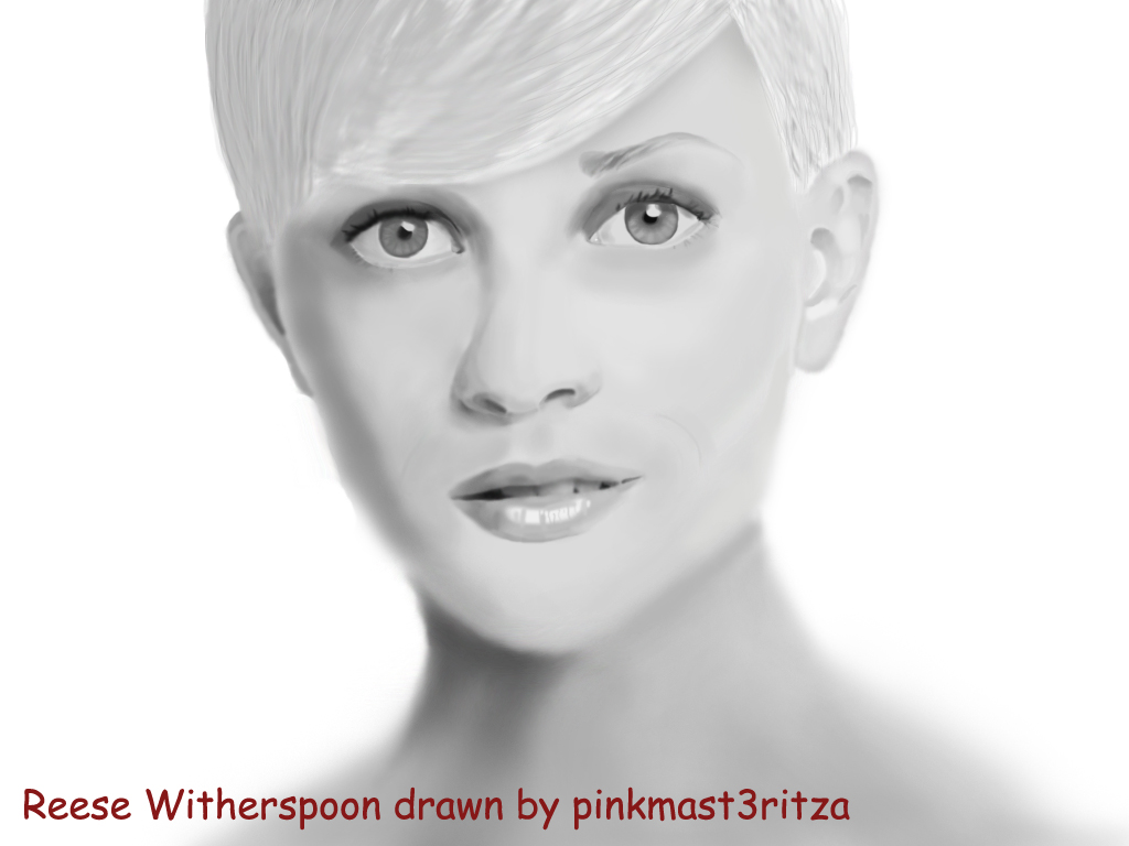 Photoshop tutorials photoshop tutorial drawing reese witherspoon
