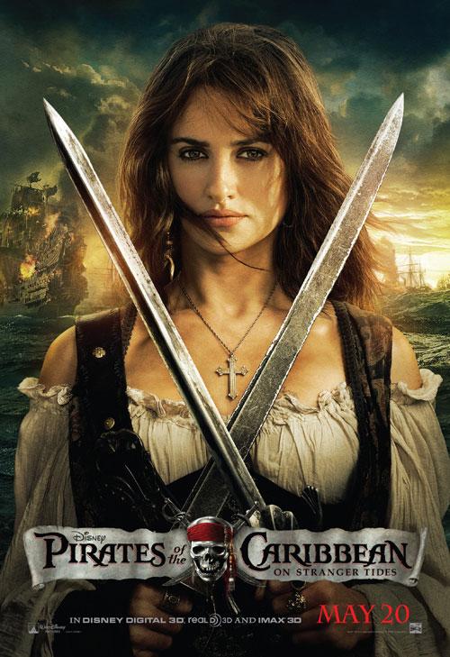 Penelope Cruz en Piratas del Caribe