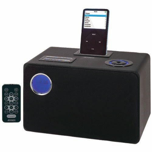 Universal iPod Docking System with Built-in Subwoofer - JENSEN