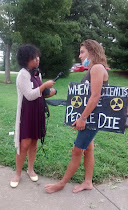 Alex interview with independent media on Republic Services failure to address the nuclear waste that is affecting the People and Environment