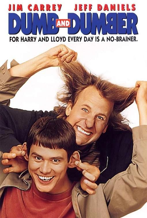 Poster Of Dumb & Dumber (1994) Full Movie Hindi Dubbed Free Download Watch Online At Alldownloads4u.Com