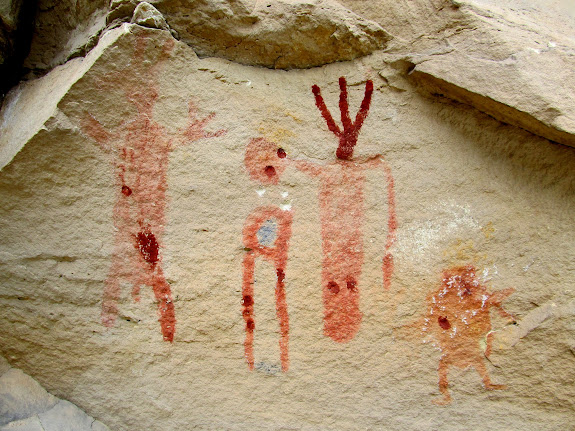 """Restored"" pictographs"