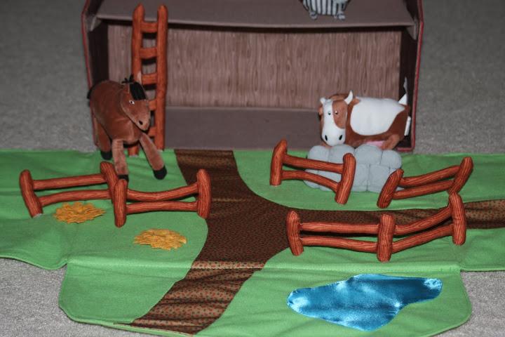 IKEA Landet Farmhouse with Farm Stuffed Animals Toy Set for Kids