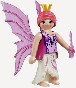 Đi kèm với bộ Xếp hình Xứ sở Thần tiên 60 pcs mã 56075 này có thêm một mô hình nhân vật Playmobil