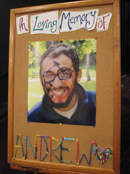 In loving memory of Andrew Wolf