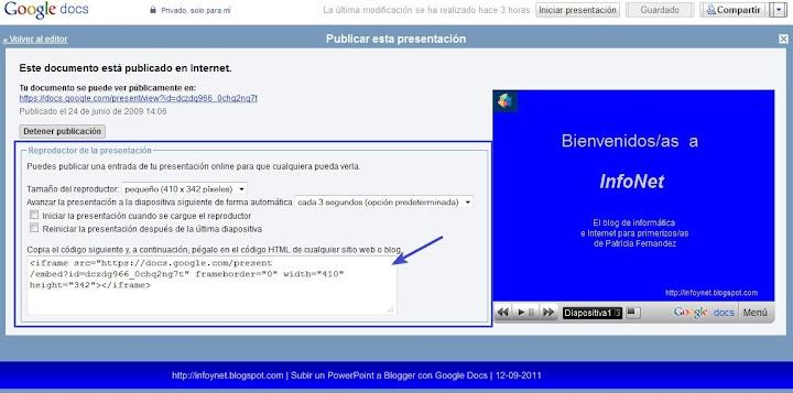 google-docs-reproductor-presentacion