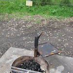 Fire pit Korsmans Landing