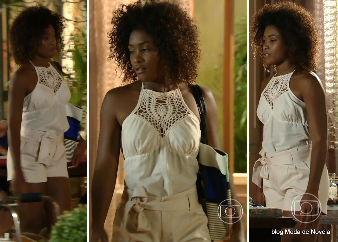 moda da novela Em Família - look da Alice