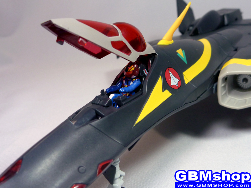 Macross Dynamite 7 VF-22S Sturmvogel II Gamlin Custom Fighter Mode
