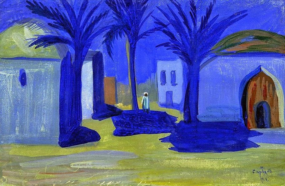 Martiros Saryan - Egyptian night, 1912