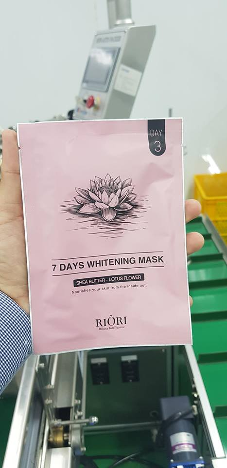 7 DAYS WHITENING MASK RIORI