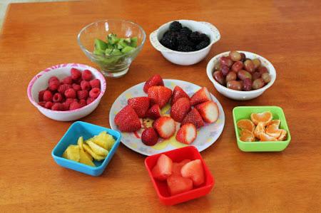 frutas para arvore de natal