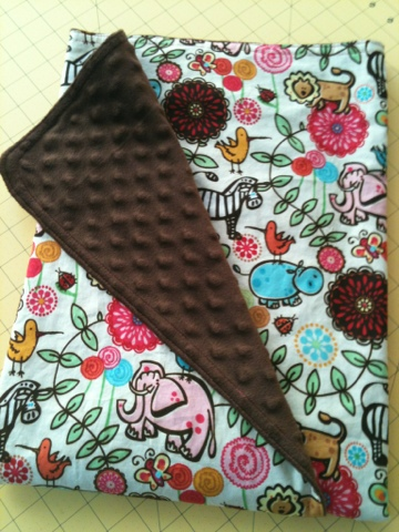 coconut love how to make a minky baby blanket first time sewing