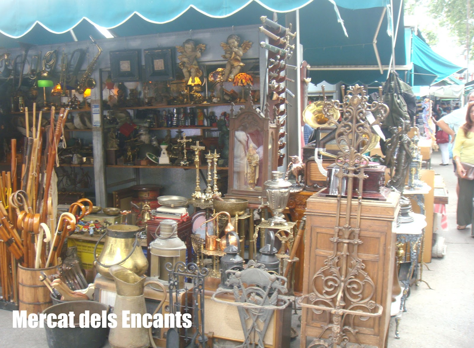 Los Encantes, Barcelona, Elisa N, Blog de Viajes, Lifestyle, Travel