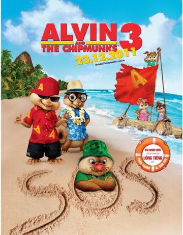 Alvin And The Chipmunks 3 แอลวิน กับสหายชิพมังค์จอมซน 3 หนังใหม่ หนังออนไลนฺ์