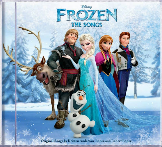 Disney music fans will love Disney Frozen: The Songs